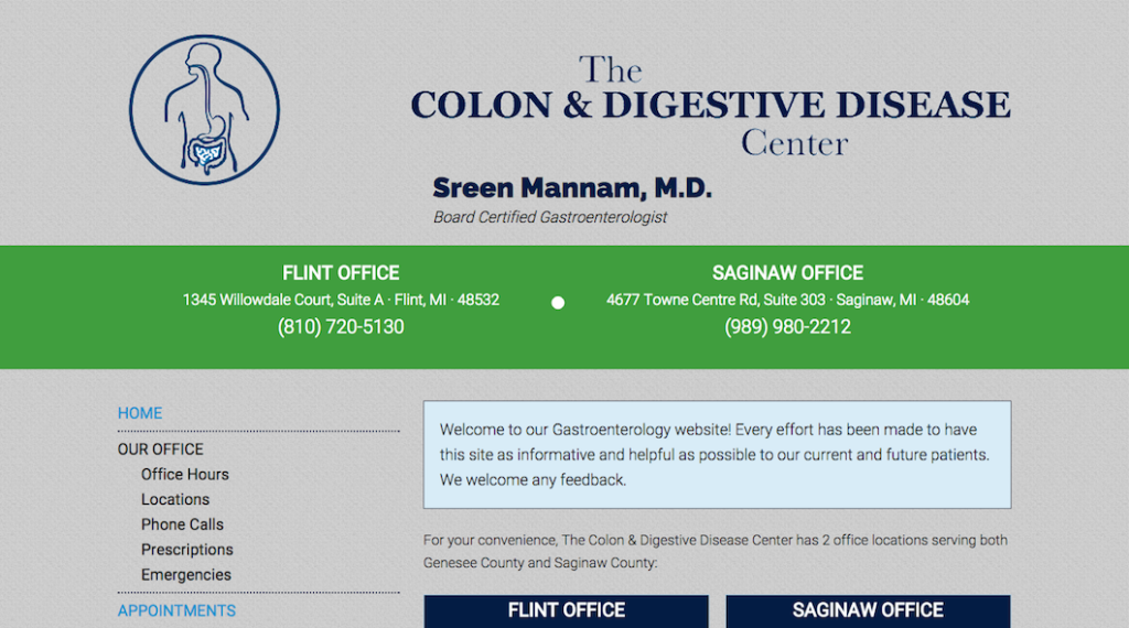 The Colon and Digestive Disease Center Site
