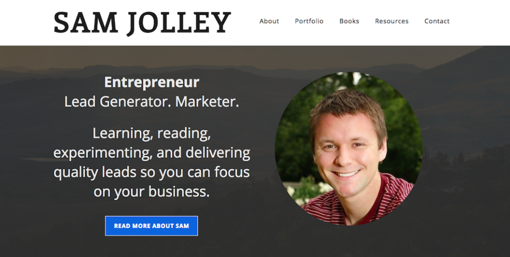Sam Jolley's Personal Site